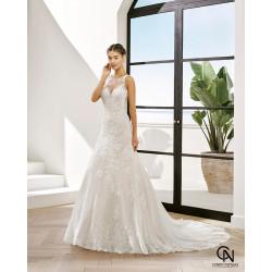 Vestido de novia PETALO - Adriana Alier