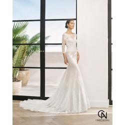 Vestido de novia PETINA - Adriana Alier