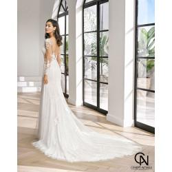 Vestido de novia PEZI - Adriana Alier