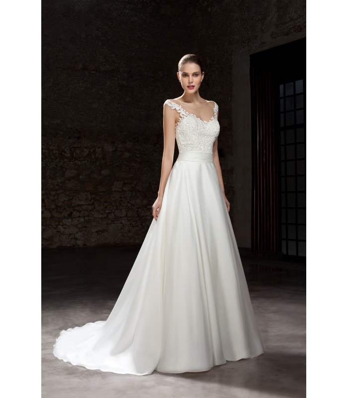 Vestido de novia 7860 - Cosmobella