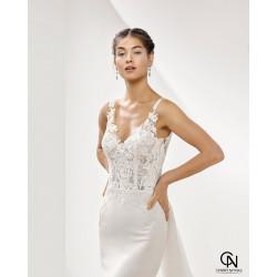 Vestido de novia PANTER - Adriana Alier