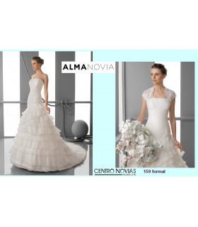 Vestido de novia FORMAL - Alma Novias