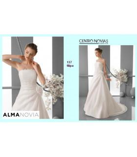 Vestido de novia FILIPA - Alma Novias
