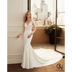 Vestido de novia LAPIS - Luna Novias