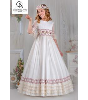 Vestido de comunión - 07733