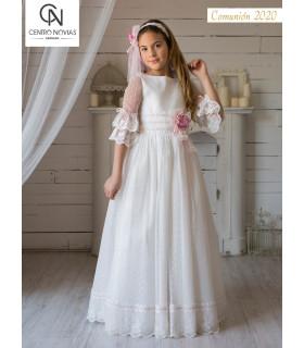 Vestido de comunión - 07691