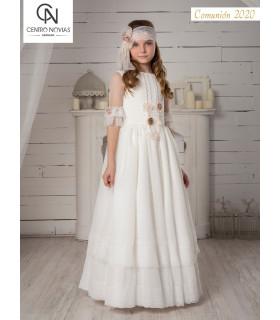 Vestido de comunión - 07702