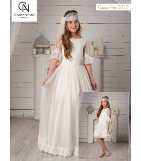 Vestido de comunión - 07703