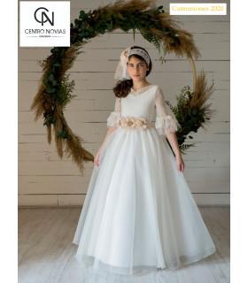 Vestido de comunión - 07743