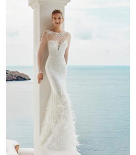 Vestido de novia GALE - Aire Barcelona Beach