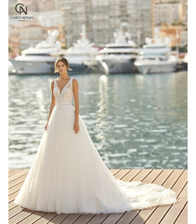 Vestido de novia INARA - Aire Barcelona 2021
