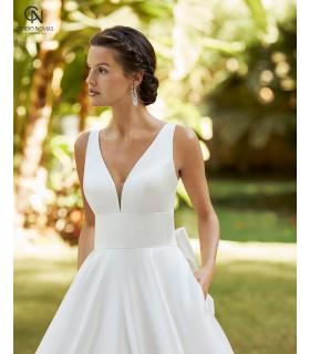 Vestido de novia ZULEY - Adriana Alier 2021