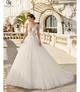 Vestido de novia IRELA - Aire Barcelona 2021