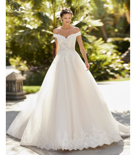 Vestido de novia ZAZZY - Adriana Alier 2021