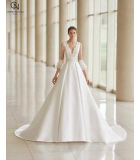 Vestido de novia ULAM - Aire Atelier