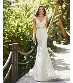 Vestido de novia ZAREK - Adriana Alier 2021