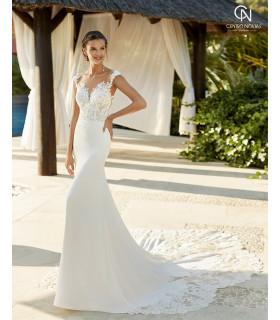 Vestido de novia ZANETA - Adriana Alier 2021