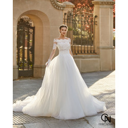 Vestido de novia ABIGAIL - Aire Barcelona Atelier