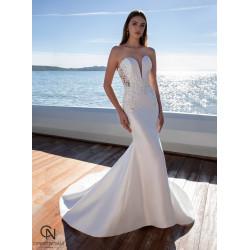 Vestido de novia 7990 - COSMOBELLA