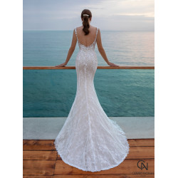 Vestido de novia 8012 - COSMOBELLA