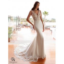 Vestido de novia 8028 - COSMOBELLA