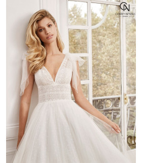 Vestido de novia NORELL - Aire Barcelona