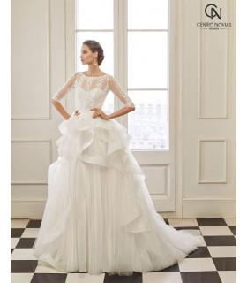 Vestido de novia NURA - Aire Barcelona
