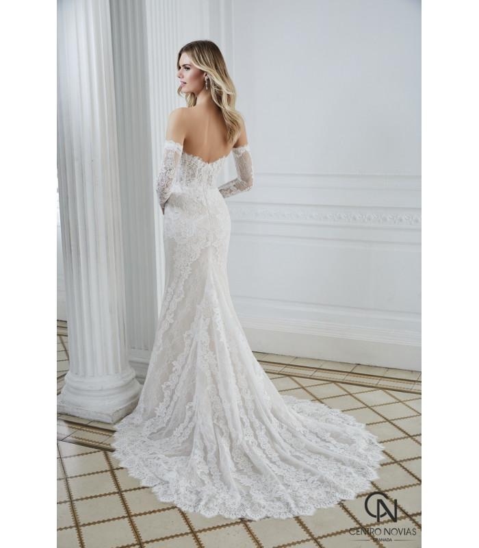 Vestido de novia DS202-39 - Divina Sposa