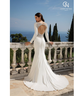 Vestido de novia 88076 - Justin Alexander