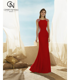 Vestido de fiesta 3J132 - MARFIL