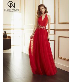 Vestido de fiesta 4J1A5 - MARFIL
