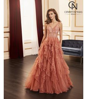 Vestido de fiesta 4J2F3 - MARFIL