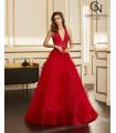 Vestido de fiesta 4J2F4 - MARFIL