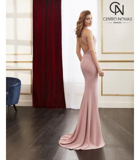 Vestido de fiesta 4J110 - MARFIL