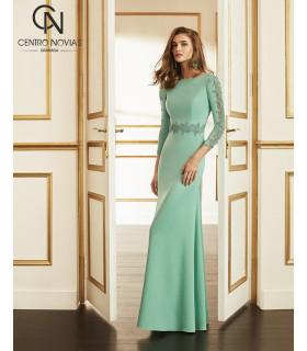 Vestido de fiesta 4J124 - MARFIL