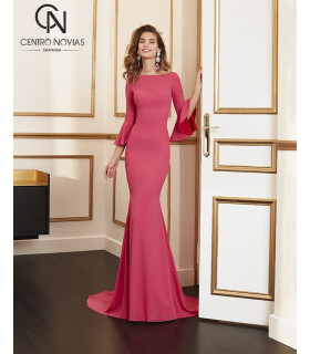 Vestido de fiesta 4J138 - MARFIL