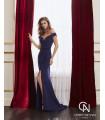 Vestido de fiesta 4J140 - MARFIL