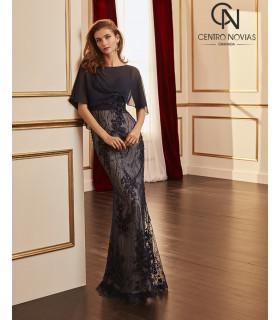 Vestido de fiesta 4J160 - MARFIL