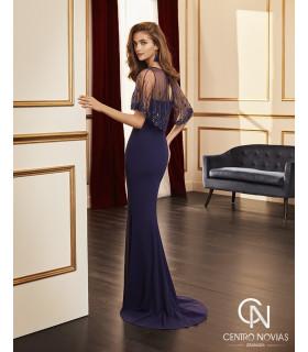 Vestido de fiesta 4J176 - MARFIL