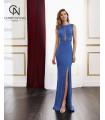 Vestido de fiesta 4J212- MARFIL