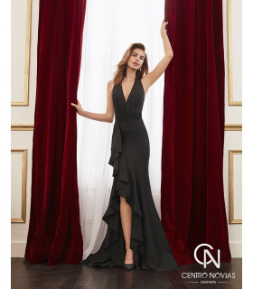 Vestido de fiesta 4J116 - MARFIL