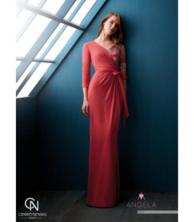 Vestido de fiesta A2213 - Manu Garcia