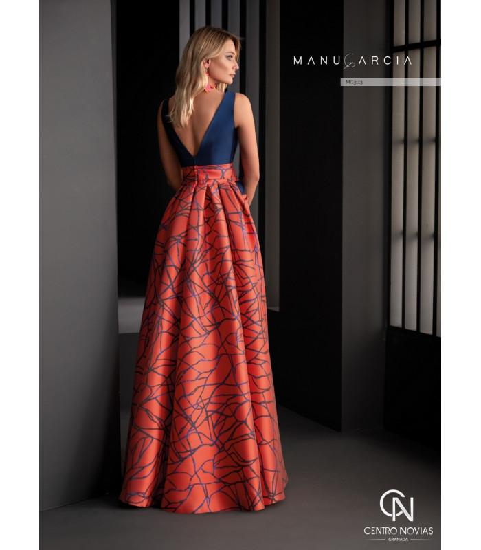 Vestido de fiesta MG3113 - Manu Garcia