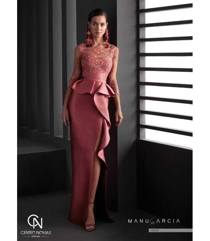 Vestido de fiesta MG3116 - Manu Garcia