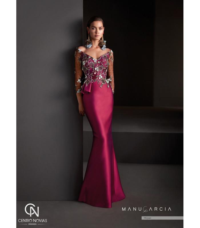 Vestido de fiesta MG3140 - Manu Garcia