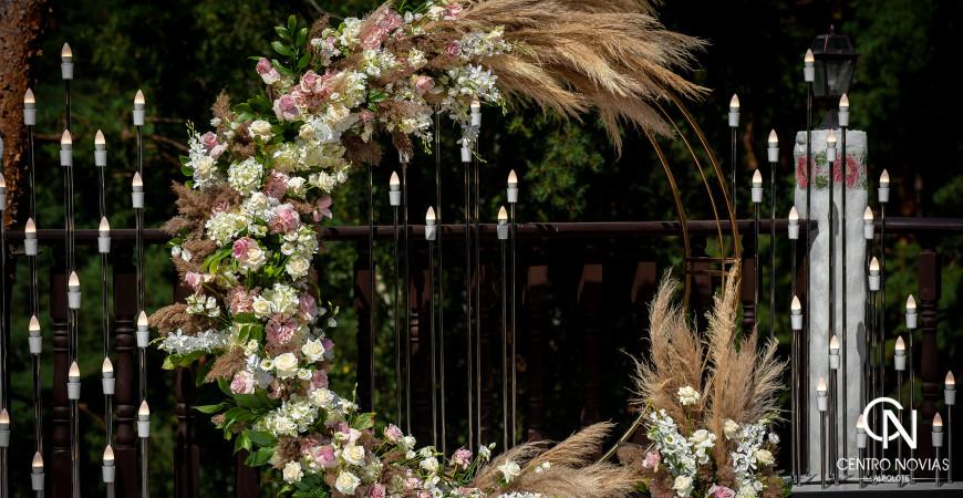 Altar, decoración y temática para el gran día