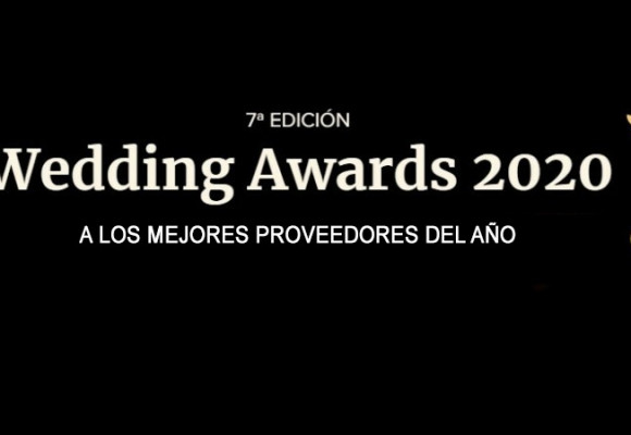 GANADORES DEL  WEDDING AWARDS 2020